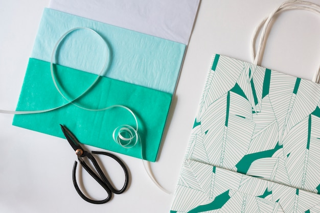 Top view gift envelope pack