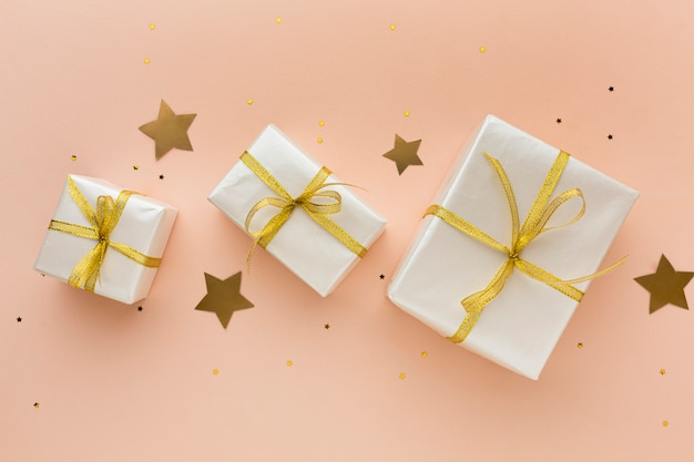 Top view gifts for party