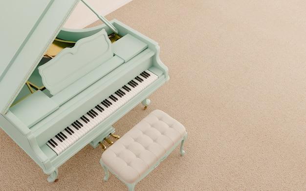 Вид сверху рояль