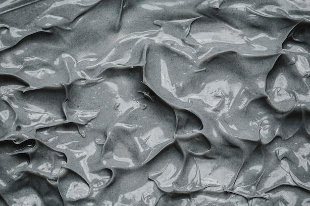 Вид сверху серый цементный фон