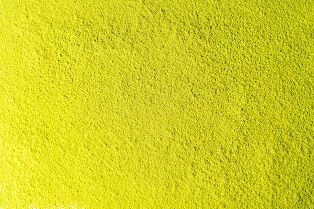 Top view of green tea matcha powder background.