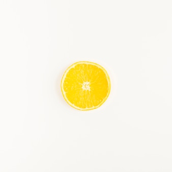 Top view lemon