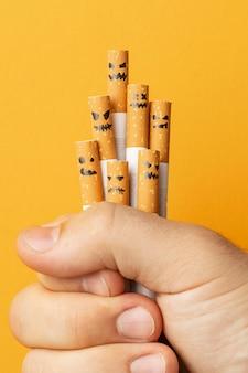 上面図タバコの日の要素の配置なし