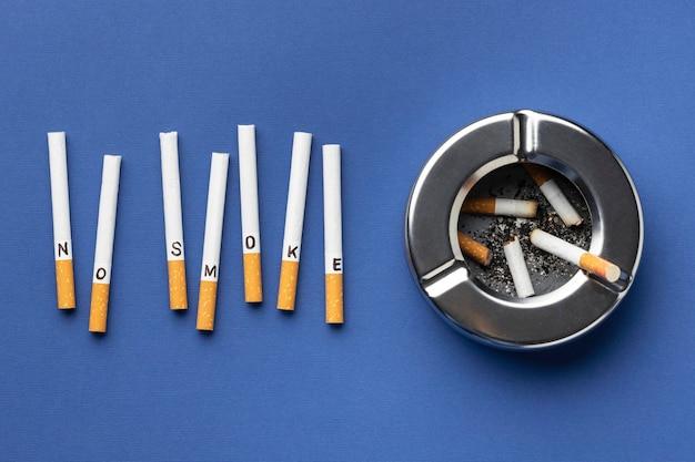 上面図タバコの日の要素の構成なし