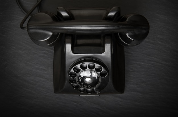 Top view of obsolete phone