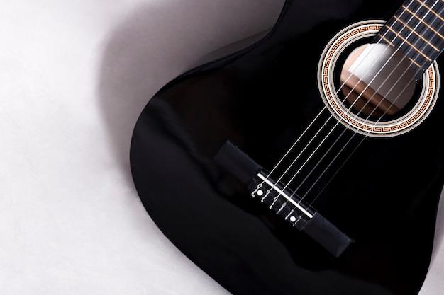 Вид сверху гитары Бесплатные Фотографии