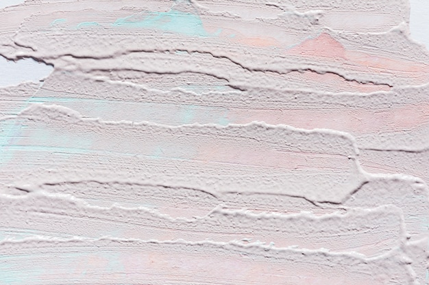 표면에 추상 페인트 브러시 획의 상위 뷰