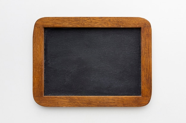 Взгляд сверху красивой концепции деревянной рамки