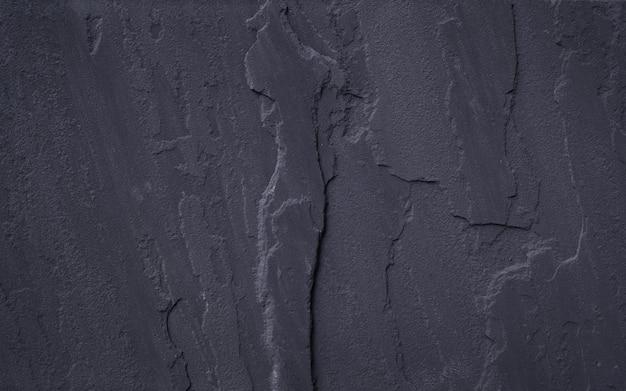 黒い石のテクスチャ背景の上面図