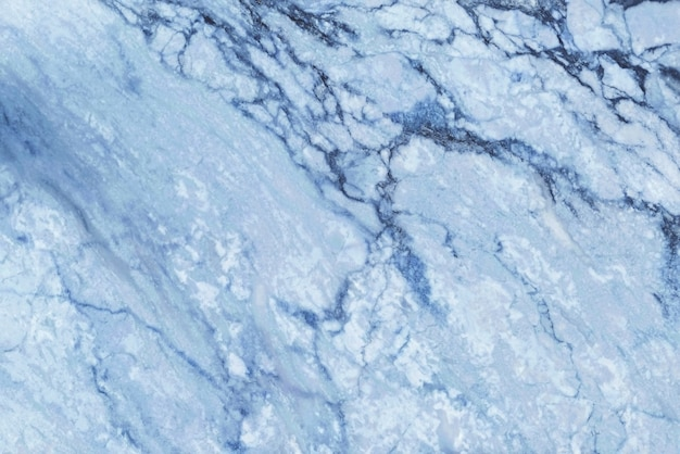 青い大理石のテクスチャ背景、自然なタイルの石造りの床の上から見る