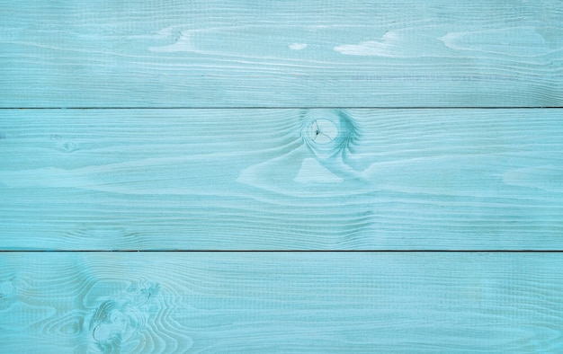 Вид сверху синей деревянной поверхности