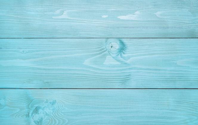 青い木の表面のトップビュー
