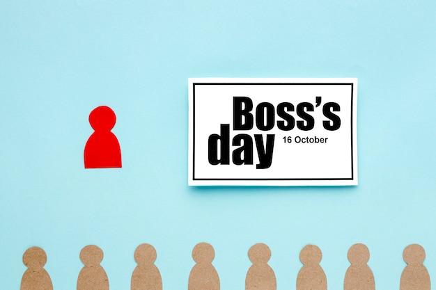 ボスの日コンセプトのトップビュー