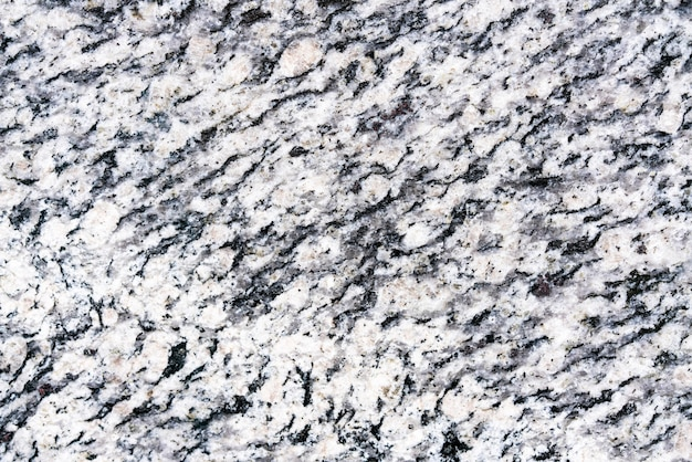 粗い岩の表面の上面図