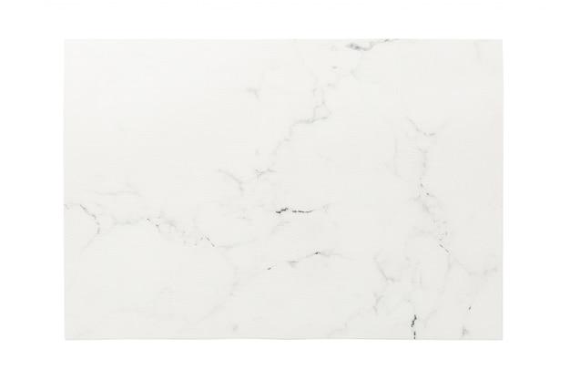 Взгляд сверху изолированного белого placemat для еды. пустое место для вашего дизайна
