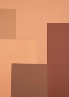 단색 패턴의 상위 뷰