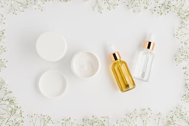 自然派化粧品のコンセプトのトップビュー