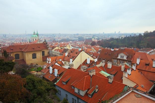 プラハのトップビュー