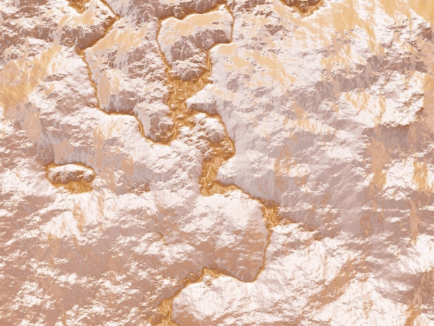 地形地形の上面図