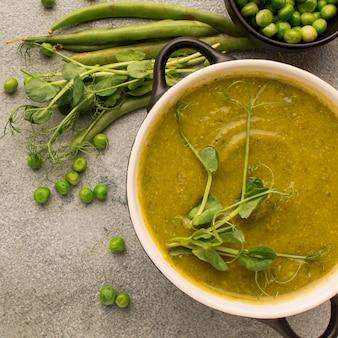 Суп из зимнего гороха