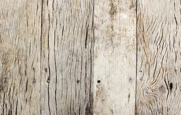 トップビュー古い木の板テクスチャ背景