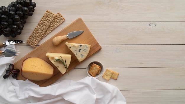 Композиция вкусностей для пикника, вид сверху Бесплатные Фотографии