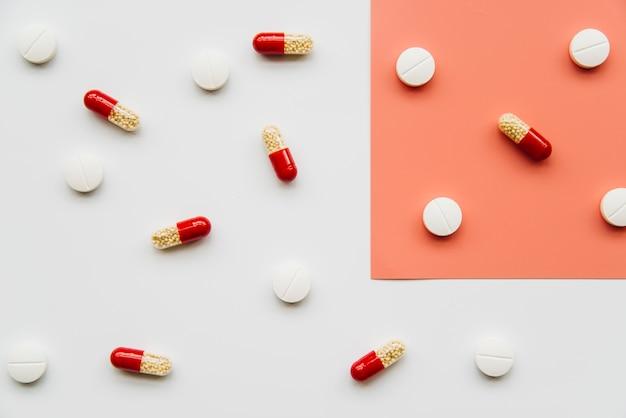 Pillole vista dall'alto