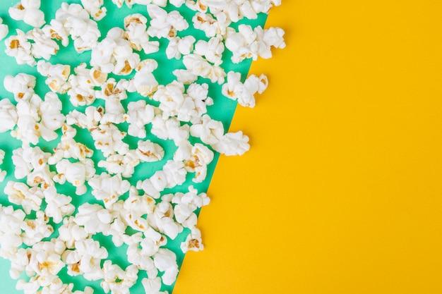 Top view of popcorn