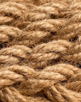 Состав текстуры веревки сверху