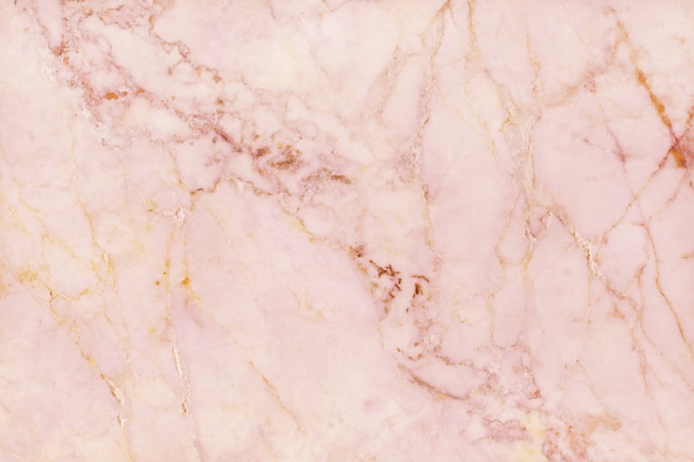 Top view of rose gold marble texture background, natural tile stone floor