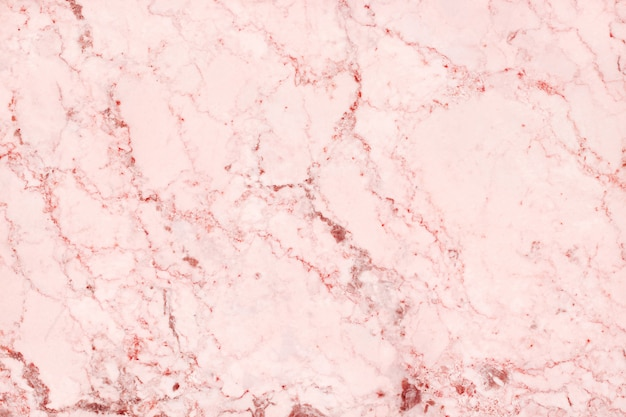Top-view of rose gold marble texture background
