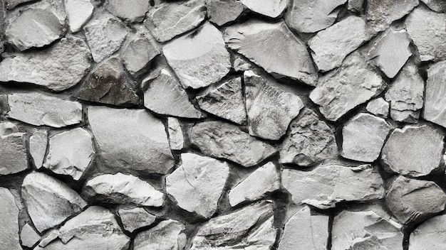 Top view seamless texture of stones