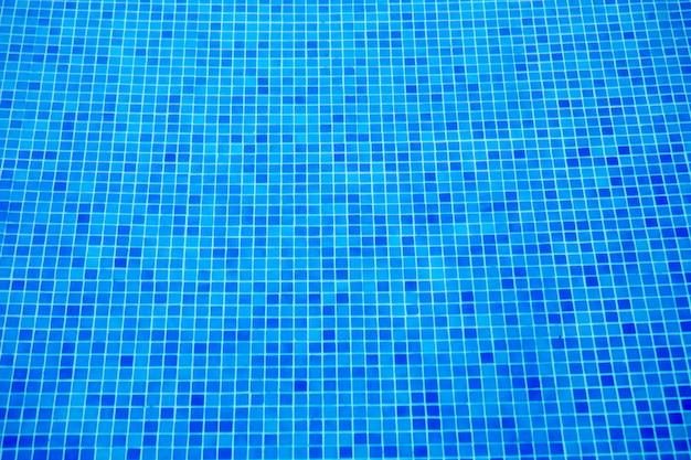 파란색의 상위 뷰 원활한 물 풀 패턴