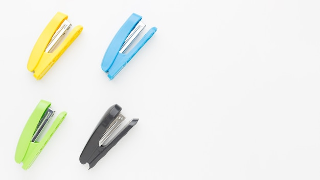 Top view stapler collection