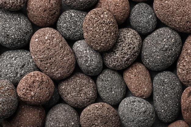 Коллекция камня вид сверху