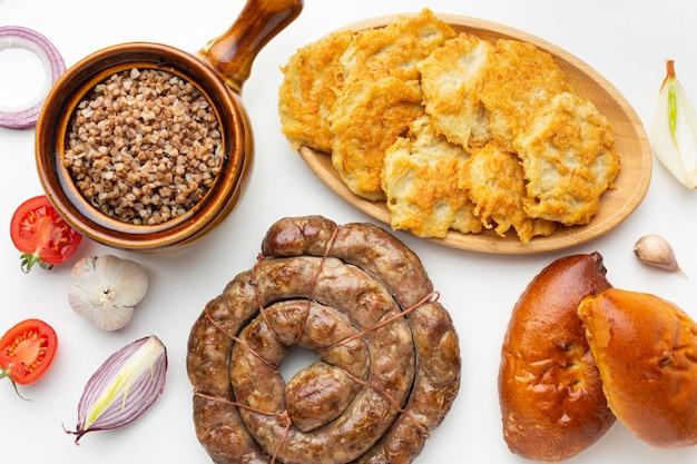 상위 뷰 맛있는 음식 배열
