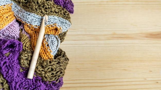 トップビュースレッドとかぎ針編みのフック
