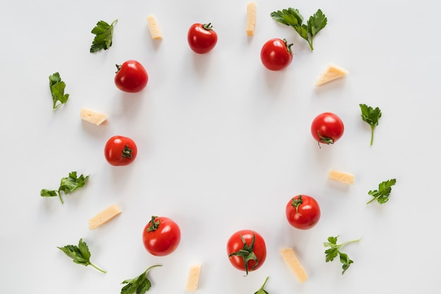 トップビュー野菜丸枠