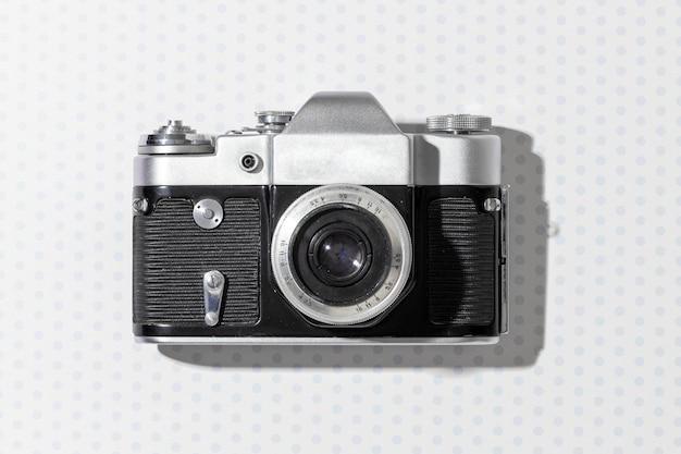 上面図のビンテージカメラ構成