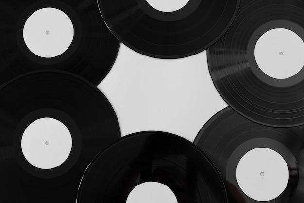 トップビューのビニールレコードの品揃え