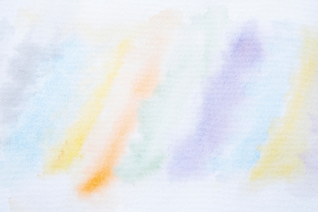 Top view watercolor paint background