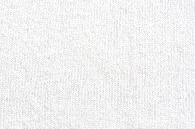 Top view of white knit wear texture