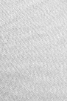 Top view white tablecloth