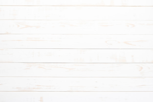 Top view of white wood texture background, wooden table