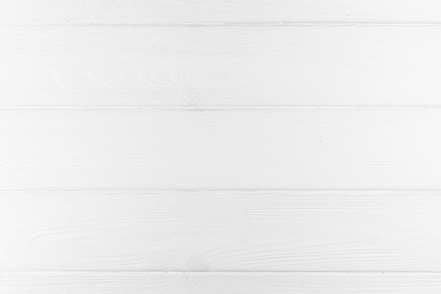 Top view of white wooden background