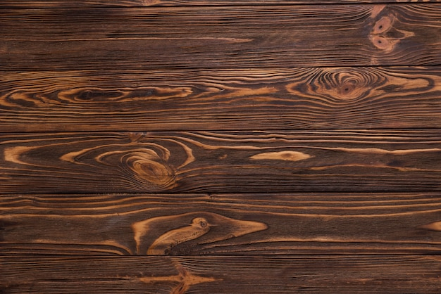 Top view wooden floor