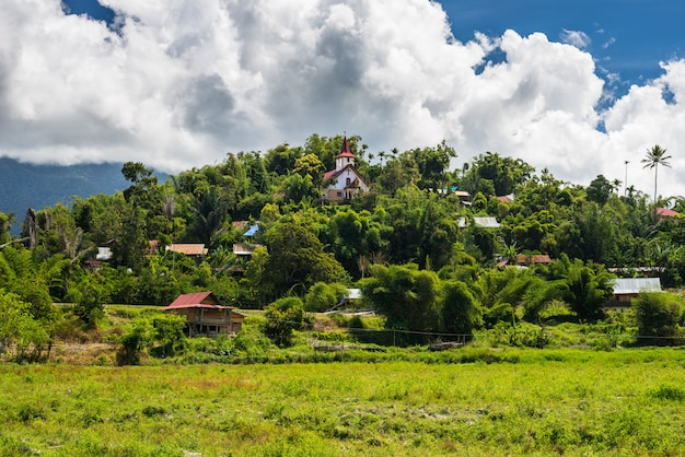 Toraja traditional village, sulawesi, indonesia