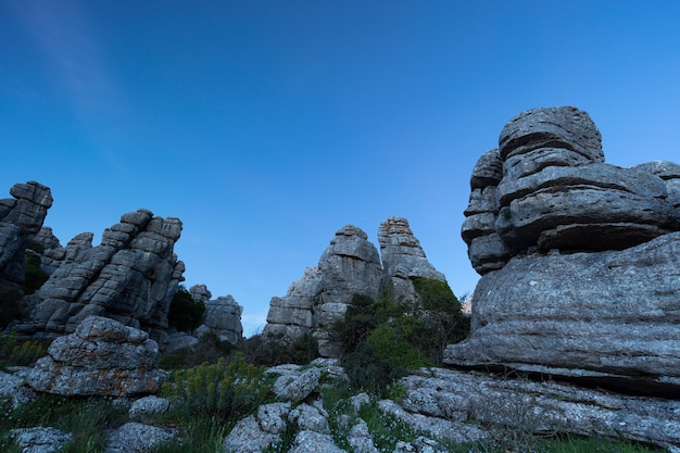 The torcal de antequera natural park contains one of the most impressive examples of karst landscape in europe