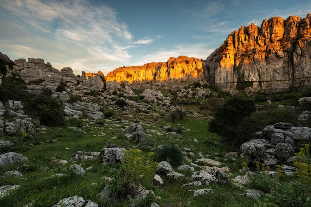 The torcal de antequera natural park contains one of the most impressive examples of karst landscape in europe.