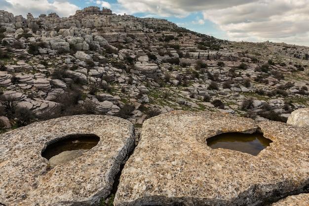 Torcal de antequera natural park